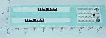 Ertl 1:16 Scale Tiltbed Load  Tractor Stickers Main Image