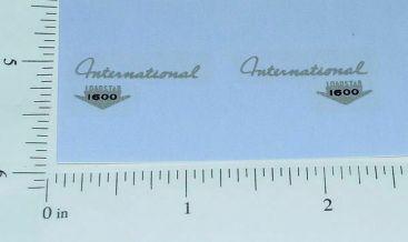 Ertl IHC Loadstar 1600 Hood Side Stickers Main Image