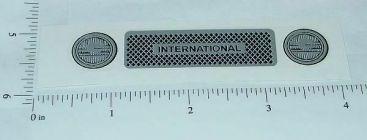 Ertl 1:16 International Scout Grill Sticker Main Image