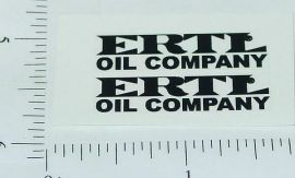 Ertl Oil Company Door Stickers