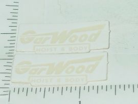 NOS Ertl Garwood Truck Hoist & Body Stickers
