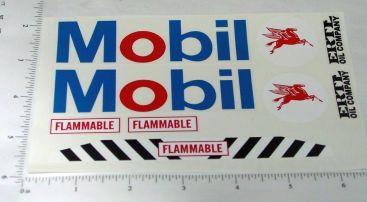Ertl Mobil Oil Tanker Semi Sticker Set Main Image