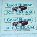 Good Humor Ice Cream Custom Truck Stickers       GH-001 Main Image