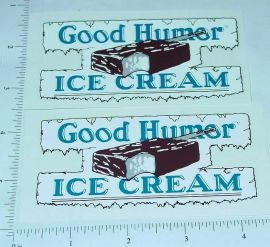 Good Humor Ice Cream Custom Truck Stickers       GH-001