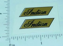 Hubley Indian Motorcycles Replacement Stickers