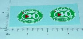 Hubley Mighty Metal Trucks Replacement Stickers
