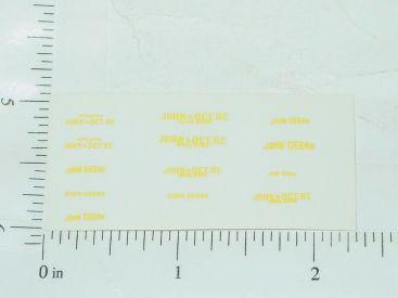 John Deere General Purpose Sticker Set 1:64 Main Image