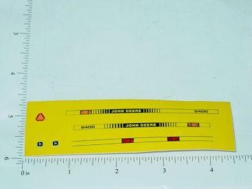 John Deere 9400 Tractor & Implement Sticker Main Image