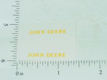 John Deere Name Yellow Main Image