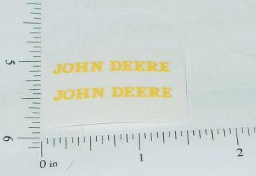 John Deere 1:16 Model 60 Tractor & Implement Stickers Main Image