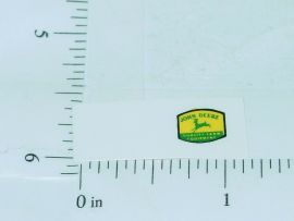 John Deere Green Deer Yellow Background Stickers