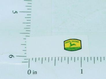 John Deere Green Deer Yellow Background Stickers Main Image