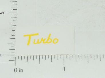 John Deere Turbo Yellow Sticker Main Image