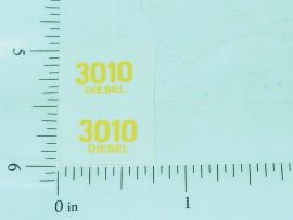 John Deere 3010 Diesel Model Number Stickers