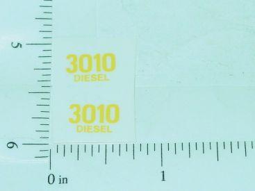 John Deere 3010 Diesel Model Number Stickers Main Image