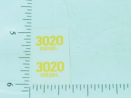 John Deere 3020 Diesel Model Number Stickers
