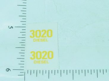 John Deere 3020 Diesel Model Number Stickers Main Image