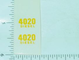 John Deere 4020 Diesel Model Number Stickers