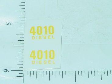 John Deere 4010 Diesel Model Number Stickers Main Image