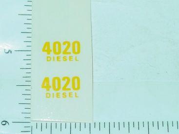 John Deere 4020 Diesel Model Number Stickers Main Image