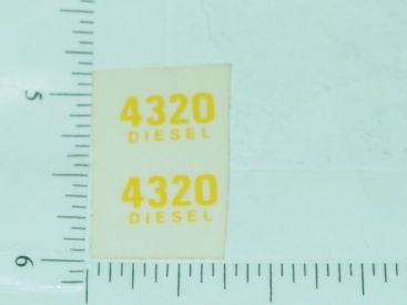 John Deere 4320 Diesel Model Number Stickers Main Image