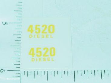 John Deere 4520 Diesel Model Number Stickers Main Image