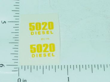 John Deere 5020 Diesel Model Number Stickers Main Image