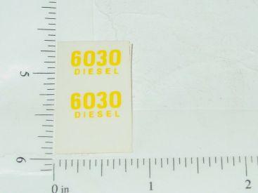 John Deere 6030 Diesel Model Number Stickers Main Image
