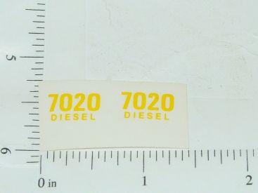 John Deere 7020 Diesel Model Number Stickers Main Image
