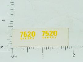 John Deere 7520 Diesel Model Number Stickers