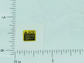 John Deere Yellow/Black Caution Stickers