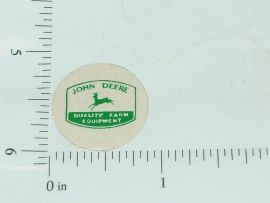 John Deere Green Farm Equipment Sticker