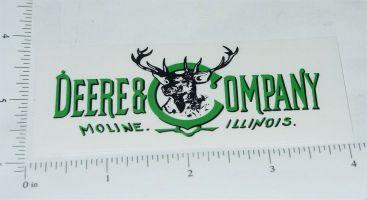 John Deere 1900's Style Deer Head Logo Sticker Main Image