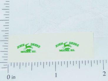 John Deere Green Moline, Ill Four Legged Deer Logo Sticker Main Image