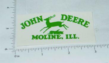 John Deere Green Pre-1936 Jumping Deere Logo Sticker Main Image