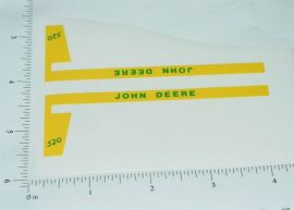 John Deere 1:16 520 Tractor Replacement Stickers