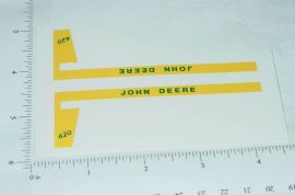 John Deere 1:16 620 Tractor Replacement Stickers