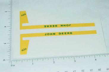 John Deere 1:16 620 Tractor Replacement Stickers Main Image