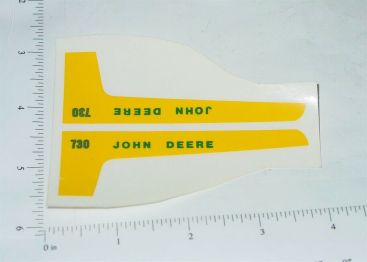 John Deere 1:16 730 Tractor Replacement Stickers Main Image