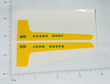 John Deere 1:16 630 Tractor Replacement Stickers Main Image