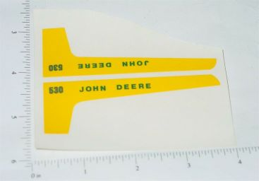 John Deere 1:16 530 Tractor Replacement Stickers Main Image