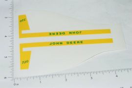 John Deere 1:16 720 Tractor Replacement Stickers