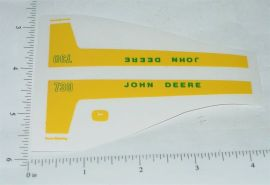 John Deere 1:16 730 Power Steering Tractor Replacement Stickers