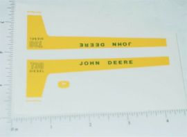 John Deere 1:16 730 Diesel Tractor Replacement Stickers