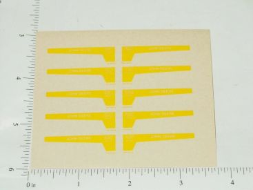 John Deere 1:16 Diesel Power Steering Tractor Replacement Stickers Main Image