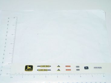 John Deere 1:16 Maximizer Combine Replacement Stickers Main Image