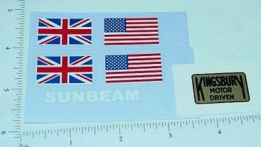 Kingsbury Sunbeam Racer Replacement Sticker Set Main Image