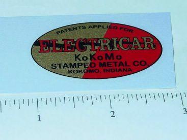KoKoMo Electricar Racer Replacement Sticker Main Image