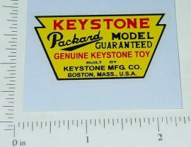 Keystone Packard Trucks Floor Sticker