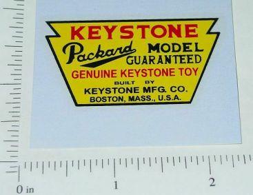 Keystone Packard Trucks Floor Sticker Main Image